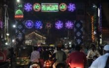 Old City decked up on Prophet's birth anniversary