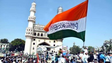 Photo of Hyderabad: Huge processions taken out to mark Milad-un-Nabi