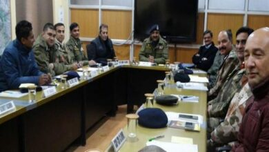 Photo of J&K: DGP Dilbag Singh chairs security review meeting