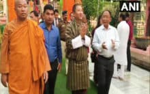 Bhutan Foreign Minister visits Mahabodhi Temple
