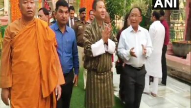 Photo of Bhutan Foreign Minister visits Mahabodhi Temple