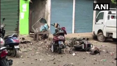 Photo of IED blast in Imphal, 5 injured