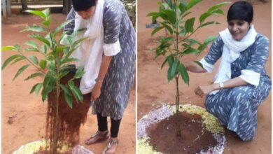 Photo of Zonal Commissinor accepts 'Green Challenge'