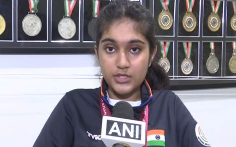 Asian Shooting Championship: Hyderabadi girl wins 3 gold medals
