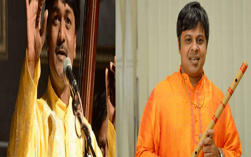 Flute Recital by Shashank and Vocal Recital by Mevundi in HYD