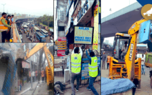 Encroachment crackdown: GHMC on a 4 day special drive
