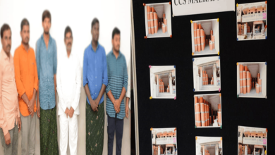 Photo of Gang held for stealing bio products valuing Rs 25L in Hyderabad