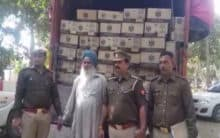UP:Ghaziabad Police seize illicit liquor worth Rs 50 lakhs