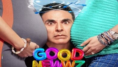 Photo of Here are Akshay and Diljit 'squeezing in' some 'Good Newwz'