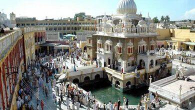 Photo of Nagar Kirtan: 1,100 Indian Sikhs arrive at Punja Sahib in Pak