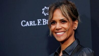 Photo of Halle Berry injured while filming fight scene on 'Bruised' set