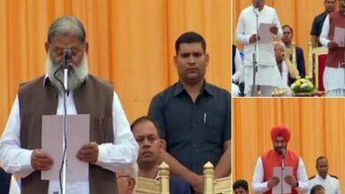 Photo of BJP leader Anil Vij, nine others take oath as ministers