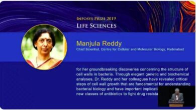 Photo of CCMB Scientist Manjula Reddy wins Infosys Prize in Life Sciences