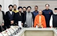 Maulana Salman Nadwi meets Yogi Adityanath for Masjid land