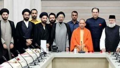 Photo of Maulana Salman Nadwi meets Yogi Adityanath for Masjid land