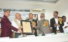 SAF confers Mohsin-e-Millat Award on Shamsuddin Punekar