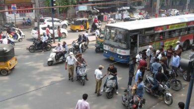 Photo of Traffic police ignore bad roads, penalise people