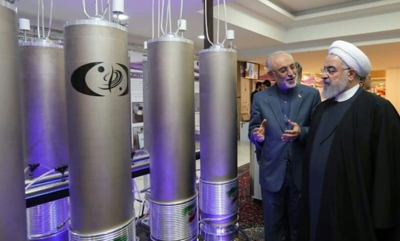 Iran says enriching uranium to five percent