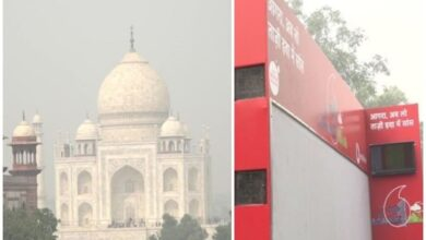 Photo of Agra: Air purifiers installed near Taj Mahal to combat pollution