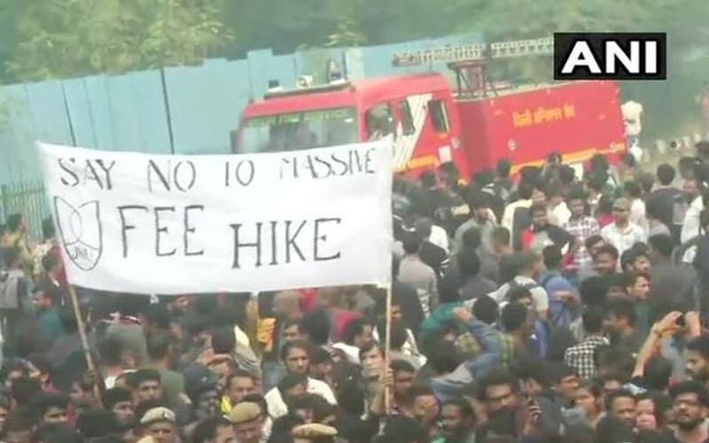 JNU fee hike