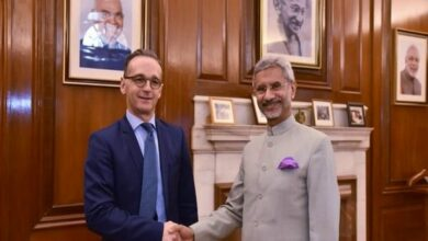 Photo of New Delhi: Jaishankar meets his German counterpart