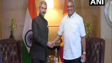 Photo of Sri Lankan president Gotabaya Rajapaksa meets Jaishankar