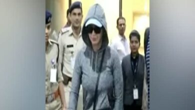 Photo of Pop star Katy Perry arrives in Mumbai for music festival