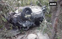 Himachal: Three killed after car plunges off cliff
