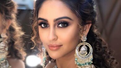 Photo of Krystle D'Souza shoots for debut film 'Chehre' in Delhi