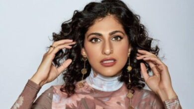 Kubbra Sait shares skincare tips