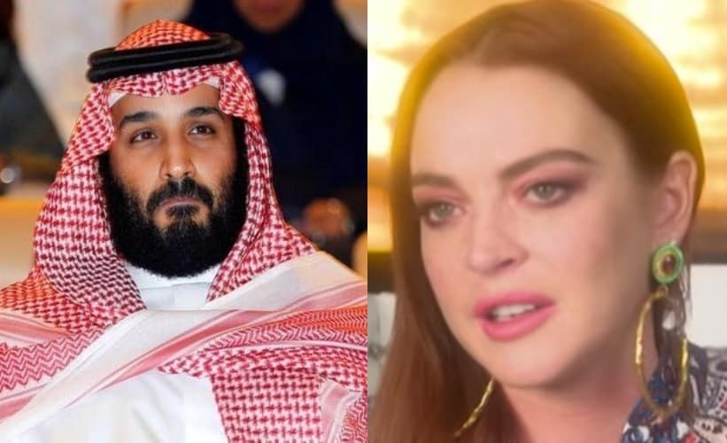 Is Lindsay Lohan dating Saudi Crown Prince Mohammad Bin Salman?