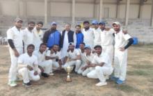 MANUU cricket team wins Azad cricket tournament