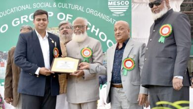 Photo of Hyderabad: MESCO school felicitates Abid Ali Khan