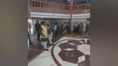 Photo of PM Modi arrives for all-party meeting at Parliament