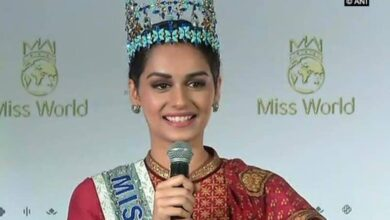 Photo of Manushi Chillar: First shot for debut film was simply surreal