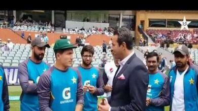 Photo of Adelaide Test: Musa Khan receives debut Test cap from Akram