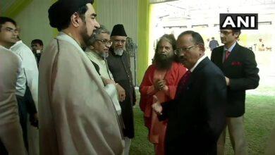 Photo of Post Ayodhya verdict, religious leaders meet NSA Doval
