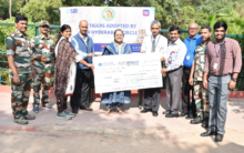 Hyderabad: SBI adopts 15 Tigers in Nehru Zoological Park