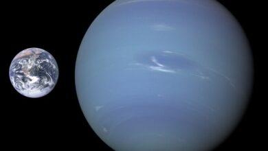 Photo of Celestial dance of two Neptune moons amazes twitterati