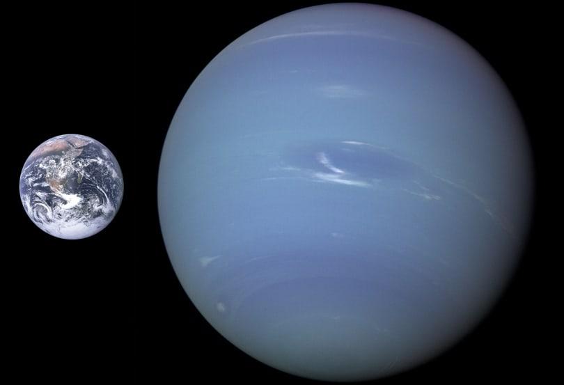 Celestial dance of two Neptune moons amazes twitterati