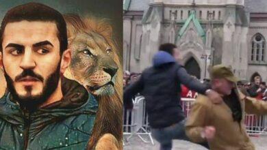 Photo of Man in Norway stops Quran desecration, internet calls him hero