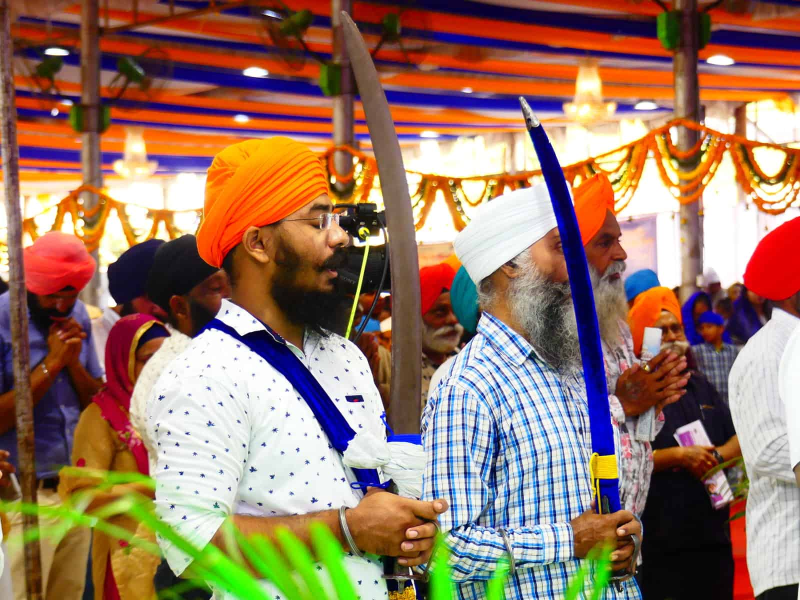 Guru Nanak jayanti celebrated with gaiety, devotion by Sikhs in Telangana. Photo: Mohammed Hussain