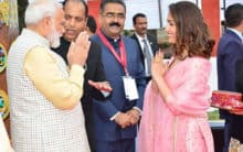 PM Modi receives warm welcome from Yami Gautam