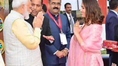 Photo of PM Modi receives warm welcome from Yami Gautam
