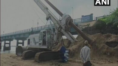 Photo of TN: Construction work begins on new Pamban Rail Bridge