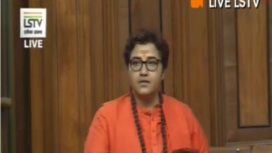Photo of IYC to protest against Pragya Thakur's Godse remark