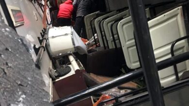 Photo of Himachal: 4 people injured after bus rolls down gorge in Sirmaur