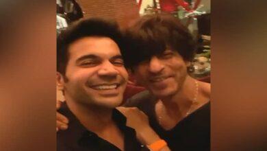 Photo of Rajkummar Rao has his fanboy moment with SRK