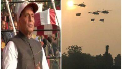 Photo of Pakistan's proxy war will not succeed: Rajnath Singh