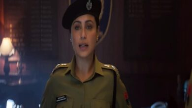 Photo of Rani is back as 'unstoppable' Shivani Shivaji Roy in 'Mardaani 2